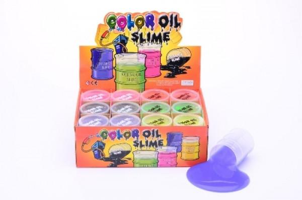 Olejový sliz v barelu