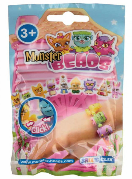 Monster Beads sáček - příšerky