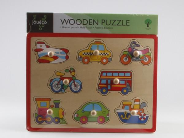 Dřevěné puzzle 8v1