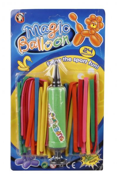 Modelovací balonky 24ks