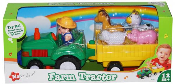 Farmářský traktůrek