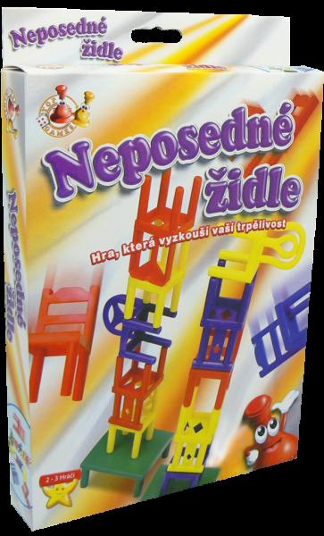 Neposedné židle - cestovní hra
