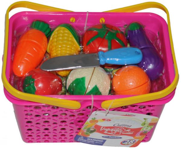 Košík - zelenina, 28 ks