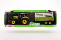 Traktor + přívěs 4 druhy velký