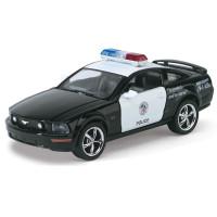 Kovový model autíčka 2006 Ford Mustang GT Policie