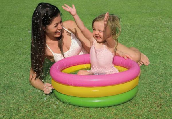 Bazén INTEX nafukovací dětský SUNSET GLOW - 61x22 cm