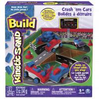 Kinetic Sand BUILD - Bourej se svými auty