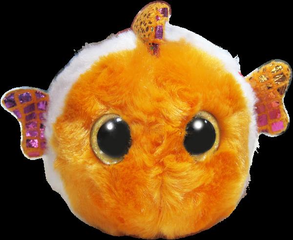 Yoo Hoo rybička Klaun očkatá zakulacená 9 cm