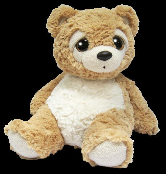 Medvídek plyšový béžový 28 cm