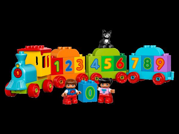 LEGO DUPLO Vláček s čísly