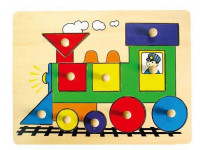 Vkládačka - lokomotiva