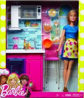 Barbie panenka a nábytek