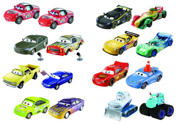 Cars 3 auta 2 ks