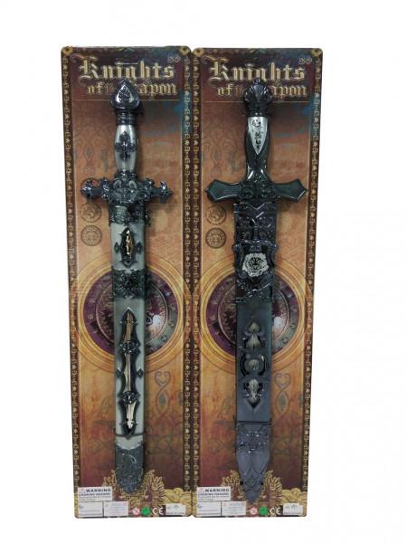 Meč rytířský s pochvou 50 cm