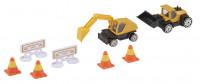Teamsterz konstrukční mini set se stavebními stroji