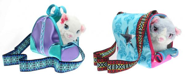 Kočička Sparkle Girlz se stylovou přepravkou