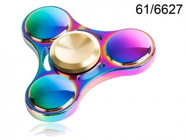 Spinner kovový duhový Crazy Gyro III
