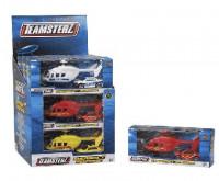 Teamsterz helikoptéra se zásahovým vozidlem