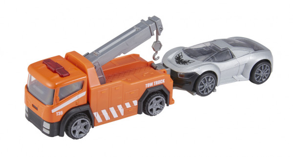 Teamsterz policejní odtahovka s autem
