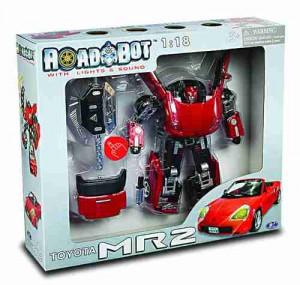 Road Bot Toyota MR2 1:18 zvuk+ světlo