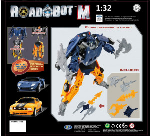 Road Bot Ford GT+Mustang C FR500 1:32