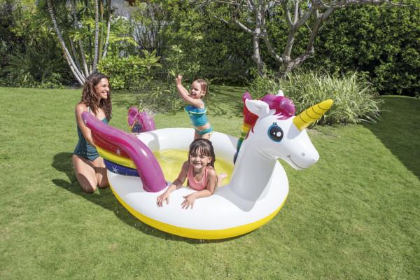 Dětský bazén jednorožec