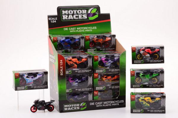 Motorka Super bike 1:24