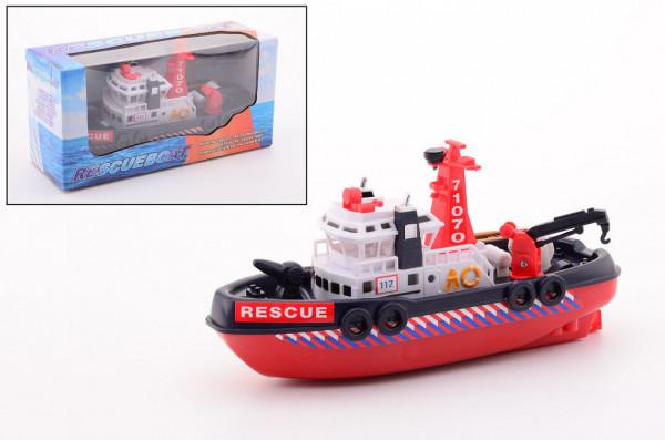 Loď záchranářská 30 cm