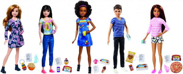Barbie chůva