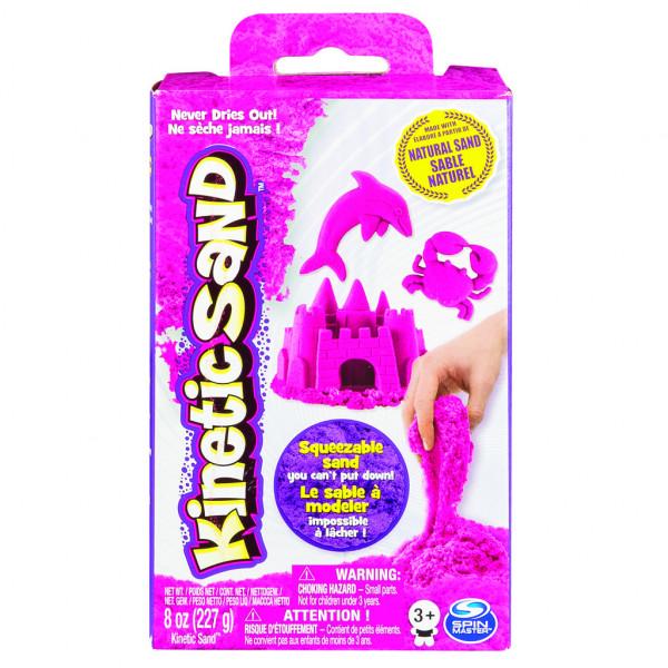 Kinetic sand základní krabice s pískem různých barev 227g