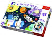 Puzzles 36 dílků Flip-flap Vesmír