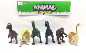 Zvířata pravěká 6 ks