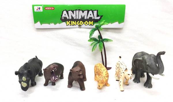 Zvířata divoká 6 ks