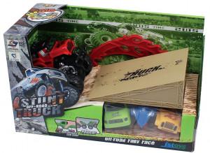 Monster truck s náhradními karoseriemi