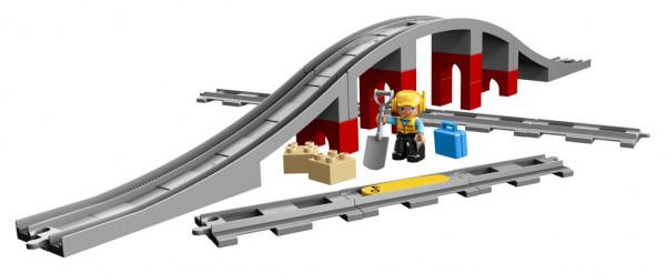 Lego Duplo Doplňky k vláčku – most a koleje