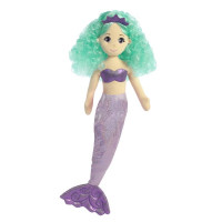 Látková Mořská panna Třpytivá Alexa 25 cm