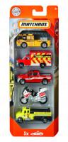 Matchbox 5 ks angličák hasiči