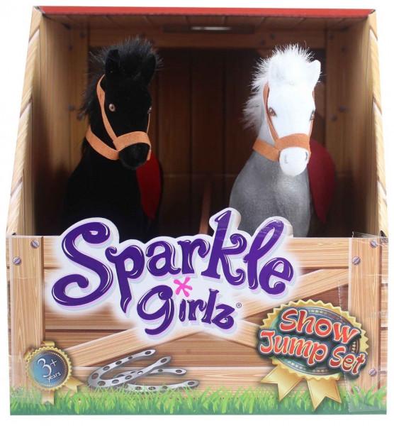 Poník parkurový sada 2 ks Sparkle Girlz