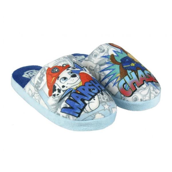 Pantofle - bačkůrky Tlapková Patrola modrá