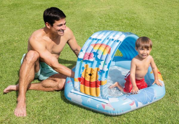 Bazén dětský Medvídek Pú