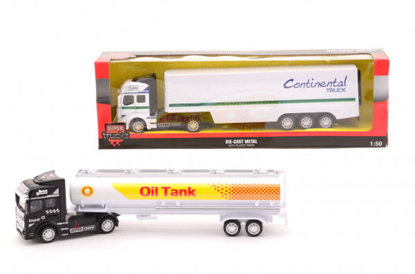 Kamion kovový model 1:50