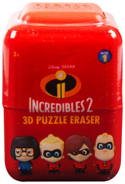 Školní guma 3D Puzzle Úžasňákovi 2