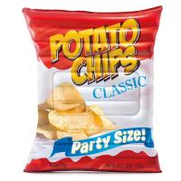 Lehátko INTEX nafukovací Potato chips 178x140 cm
