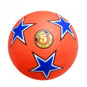 Fotbalový míč kopaná RUBBER STAR - 5