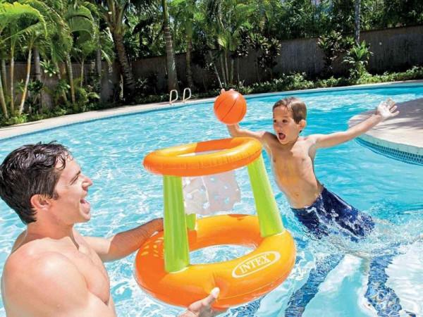 Nafukovací hra do bazénu INTEX 58504 - košíková