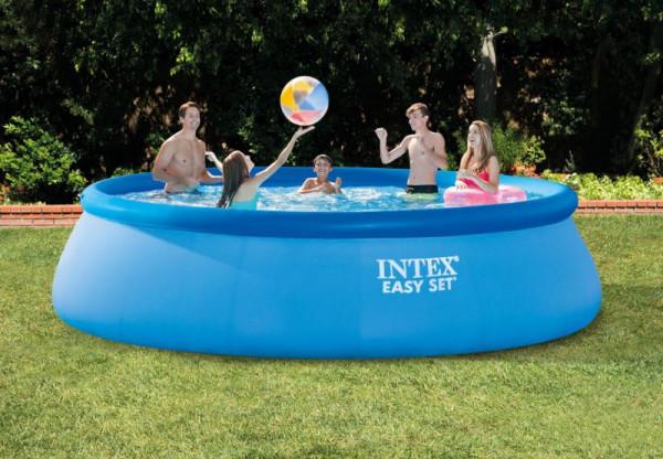 Bazén Intex Easy 457x107 SET s filtrací