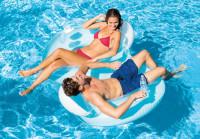 Kruh plavecký nafukovací INTEX 56800 Double 198x117 cm