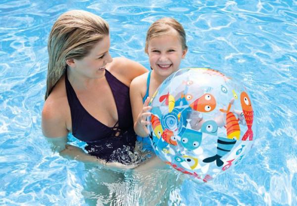 Nafukovací plážový míč Intex 59040 SEA 51 cm