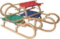 Sáně dřevěné Rohačky 95 CM