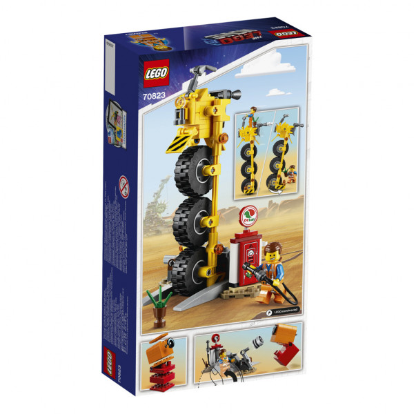 Lego Movie Emmetova tříkolka!